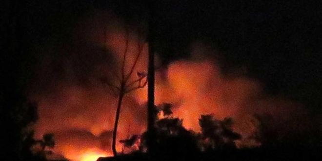 هجوم إسرائيلي في محيط دمشق