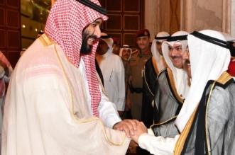بينهم 7 وزراء.. هؤلاء رافقوا ولي العهد في زيارته إلى الكويت - المواطن