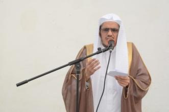 صور.. وصايا من الشيخ حمزة الفتحي بخطبة صلاة الاستسقاء في محايل - المواطن