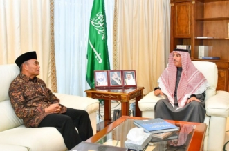 العواد يبحث تعزيز التعاون الثنائي مع وزير التعليم الإندونيسي وسفير بنغلاديش - المواطن