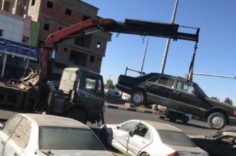 """تجاوباً مع """"المواطن"""".. بلدية أحد رفيدة تزيل المركبات المتكدسة بشوارع الصناعية - المواطن"""