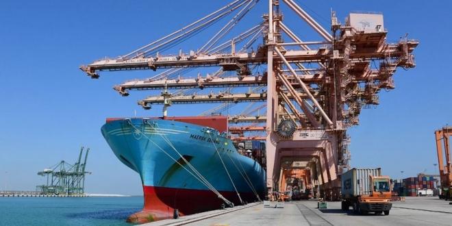 صورة موانئ: إطلاق أول خط شحن ملاحي جديد لميناء جدة خلال 2021