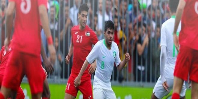 صورة 30 مارس موعد مباراة السعودية وفلسطين