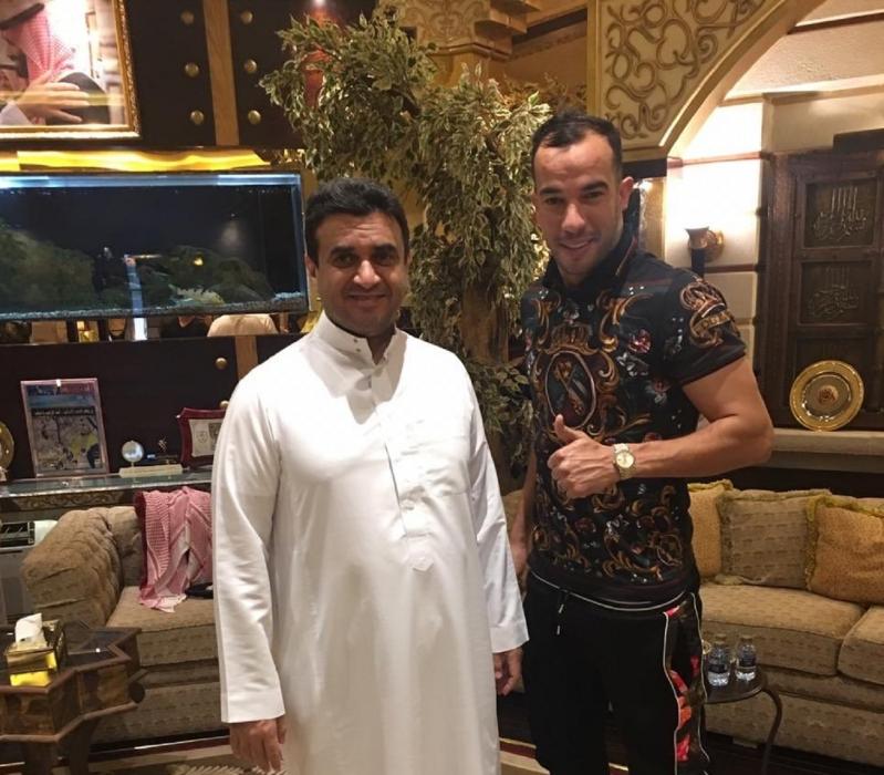 جمال بلعمري مع خالد البلطان