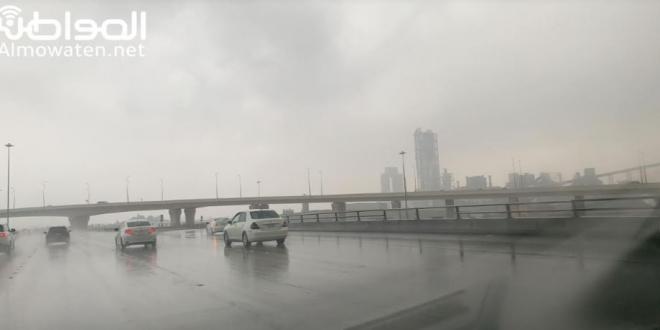 صورة توقعات بتحسن فرص الأمطار على مكة والباحة بداية من الأربعاء