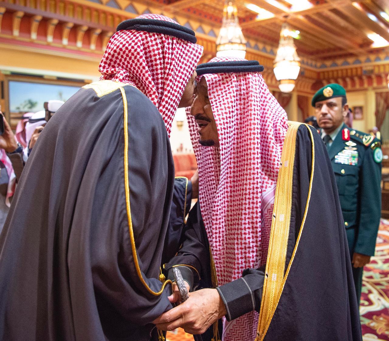 الملك سلمان يستقبل رئيس وزراء الكويت ويقيم مأدبة غداء تكريمًا له2