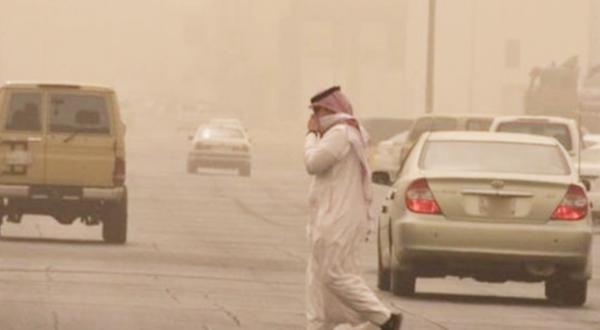 صورة الإنذار المبكر يحذر من حالة الطقس في نجران