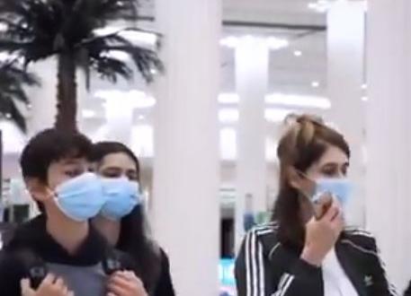 صورة فيديو.. لحظة وصول الفوج الأول من السياح الإسرائليين إلى الإمارات