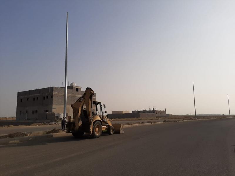 شوارع الطراشة بجازان2