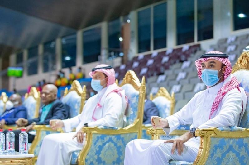 وزير الرياضة في ودية السعودية وجامايكا 1