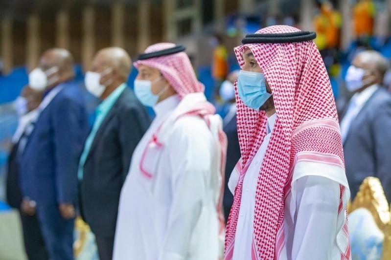 عبدالعزيز بن تركي الفيصل وياسر المسحل