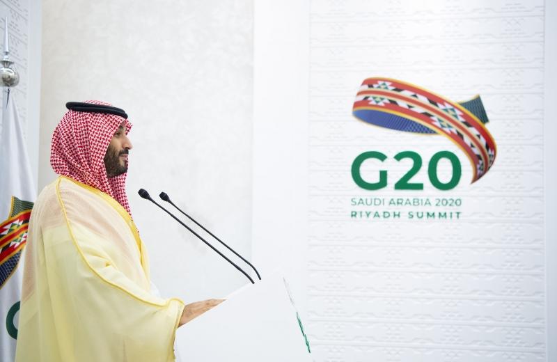 ولي العهد في قمة العشرين