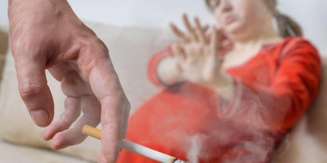 صورة أضرار التدخين السلبي على الحوامل