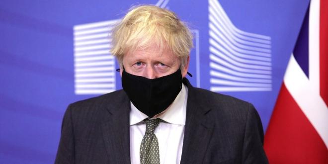 صورة فيديو.. بوريس جونسون : فيروس كورونا المتحور في بريطانيا أكثر فتكًا