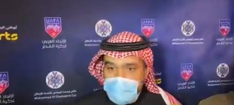 صورة تعليقات نارية من حامد البلوي بعد التعادل ويحسم مصير مدرب الاتحاد