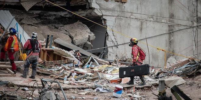 صورة زلزال آخر بقوة 5 ريختر يضرب جزيرة سولاويسي الإندونيسية
