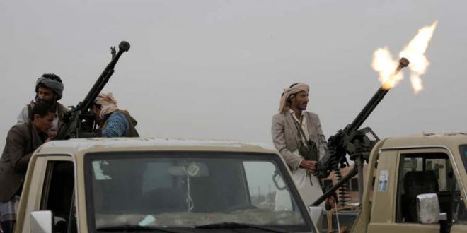 صورة ميليشيا الحوثي ترتكب إعدامات ميدانية بحق مدنيين في تعز