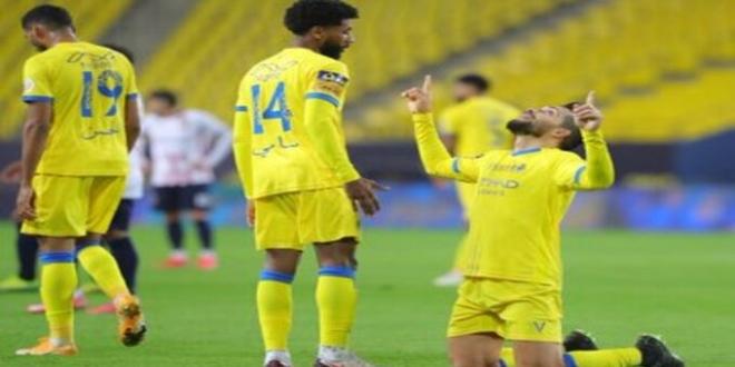 صورة بيتروس يقود النصر للفوز على الوحدة بـ دوري محمد بن سلمان