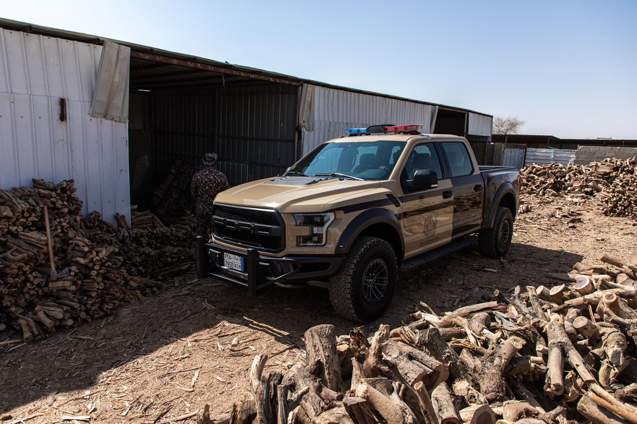 الحطب المحلي في الرياض