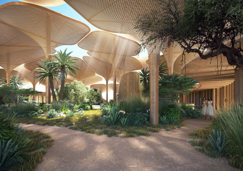 النظرة الأولى على فندق ساوثرن ديونز في السعودية