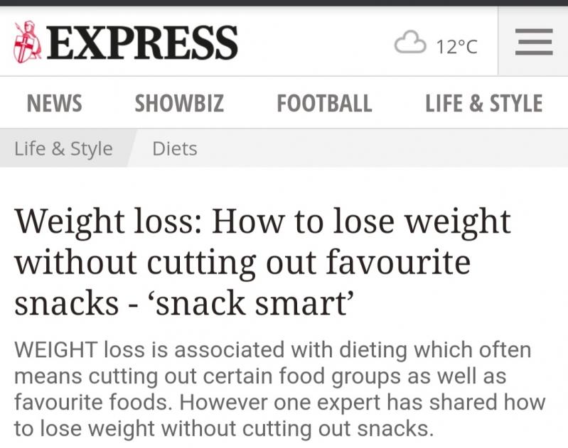 كيفية إنقاص الوزن دون الاستغناء عن الوجبات الخفيفة
