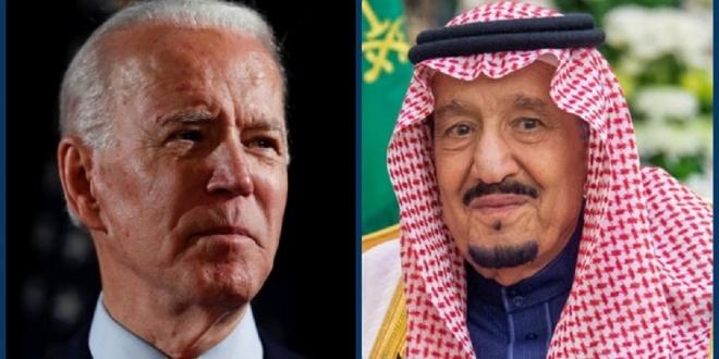 صورة اتصال الملك سلمان وبايدن الأول من نوعه ويؤكد أهمية العلاقة الاستراتيجية لأمن المنطقة والعالم