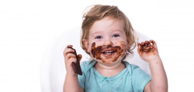 نصيحة للأطفال: لا تكثروا من الشوكولاتة