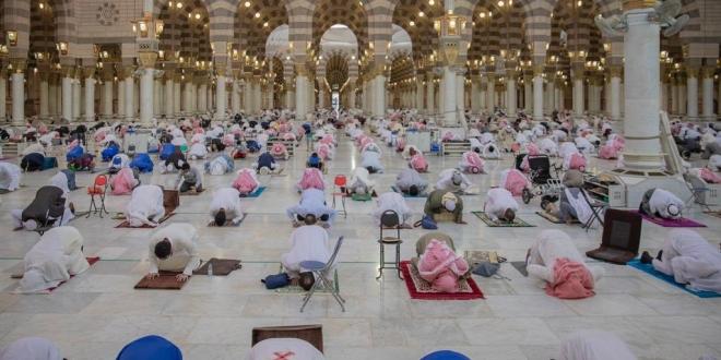 صورة برنامج إلكتروني يحدد طاقة المسجد النبوي الاستيعابية