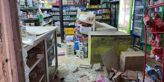 صورة إصابة 5 مدنيين في سقوط مقذوف عسكري أطلقته ميليشيا الحوثي تجاه إحدى قرى جازان