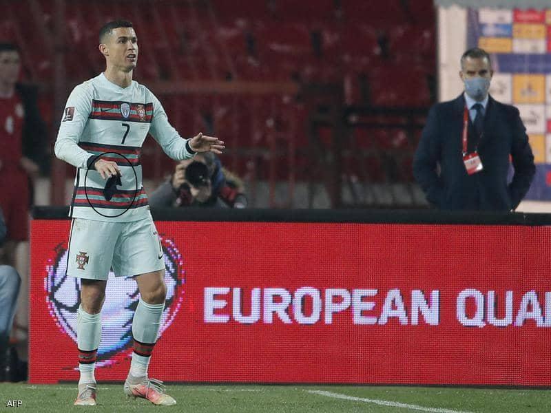 كريستيانو رونالدو لاعب البرتغال