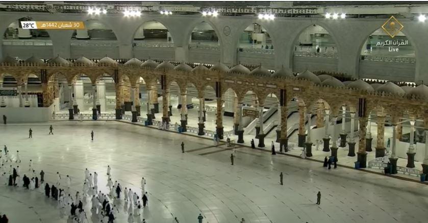 فيديو.. صلاة التراويح الأولى من رمضان في المسجد الحرام - المواطن