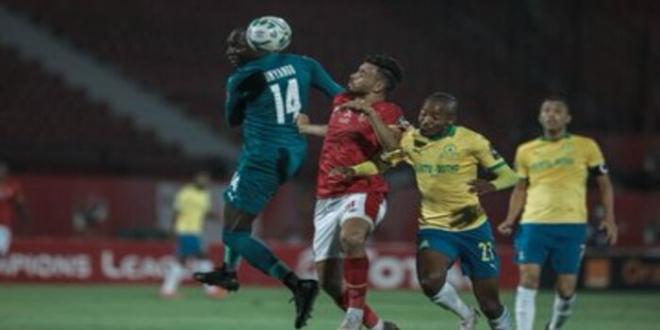 صورة المارد الأحمر يشكو حكم مباراة الأهلي ضد صن داونز