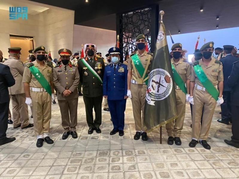 القوات المسلحة السعودية تشارك باحتفالات الذكرى المئوية الأولى لتأسيس مملكة الأردن - المواطن