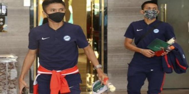 صورة منتخب سنغافورة يغادر الرياض | صحيفة المواطن الإلكترونية