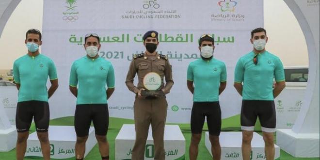 صورة دراجو الدفاع المدني يحققون المركز الرابع في بطولة القطاعات العسكرية