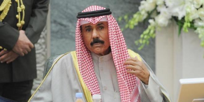 صورة أمير الكويت يعفي وزير شؤون الديوان الأميري من منصبه