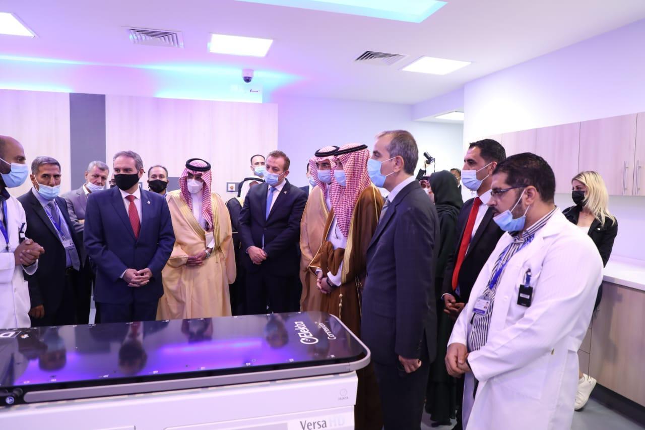 الصندوق السعودي للتنمية يفتتح مركزًا للعلاج بالأشعة في الأردن - المواطن