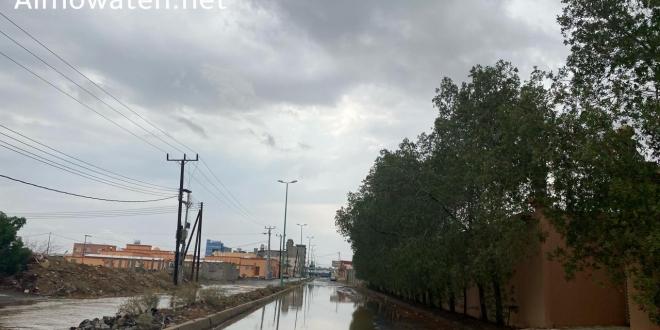 صورة الدفاع المدني يحذر : أمطار رعدية وجريان السيول من الأحد حتى الخميس