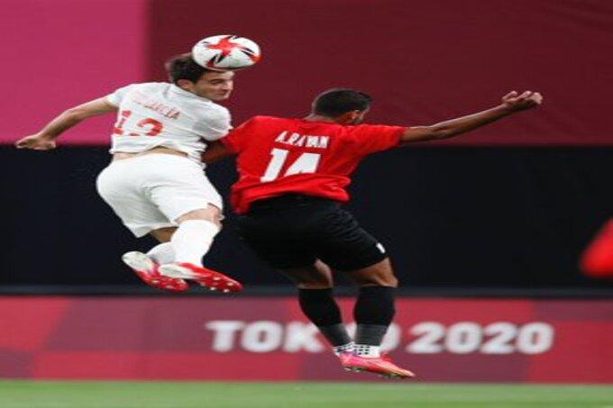 مباراة مصر وإسبانيا