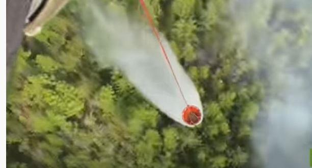 صورة المروحيات تكافح حرائق الغابات في روسيا