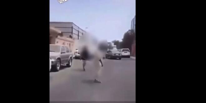 صورة ضبط مواطن أطلق النار على آخر في جدة بسبب خلاف