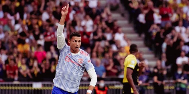 صورة رونالدو الأبرز في مباراة مانشستر يونايتد ووست هام