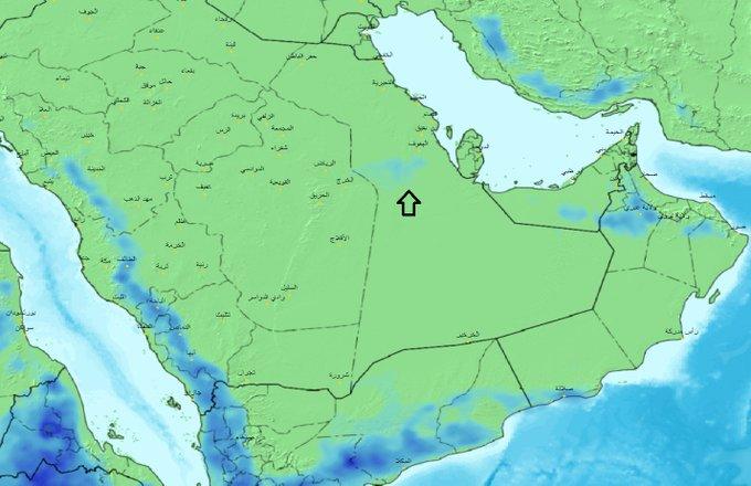 الحصيني يتوقع هطول أمطار على 5 مناطق - المواطن