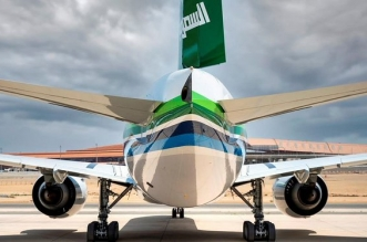 الخطوط السعودية تكشف عن طائراتها المشاركة في العرض الجوي لليوم الوطني - المواطن